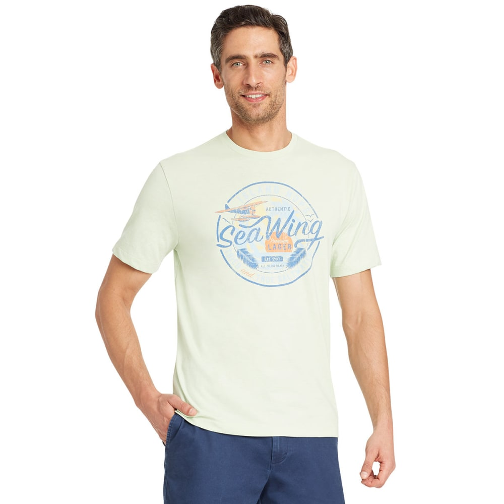 IZOD Men's Sea Wing Short-Sleeve Tee - GLEAM-314