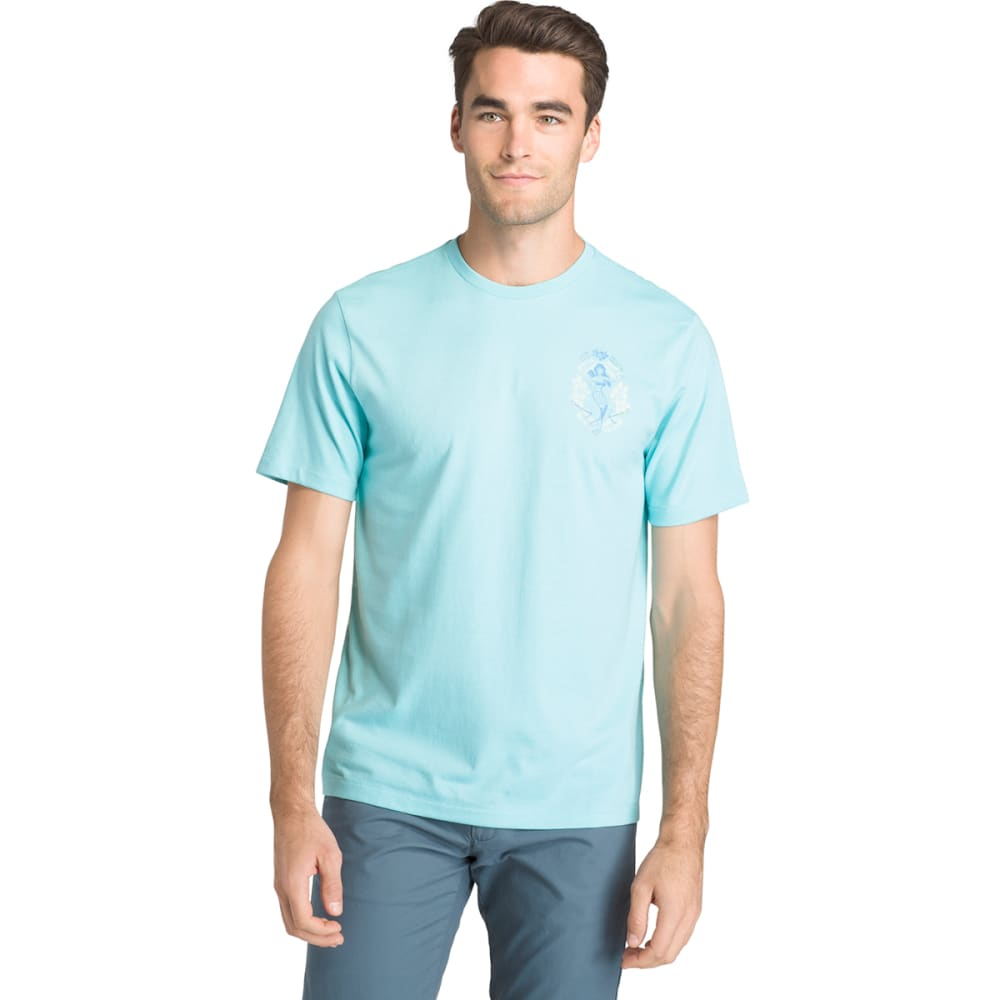 IZOD Men's Easy Waves Mermaid Short-Sleeve Tee - BLUE RADIANCE