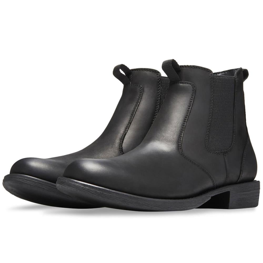 EASTLAND Men's Daily Double Chelsea Boots, Black - BLACK LEATHER-01