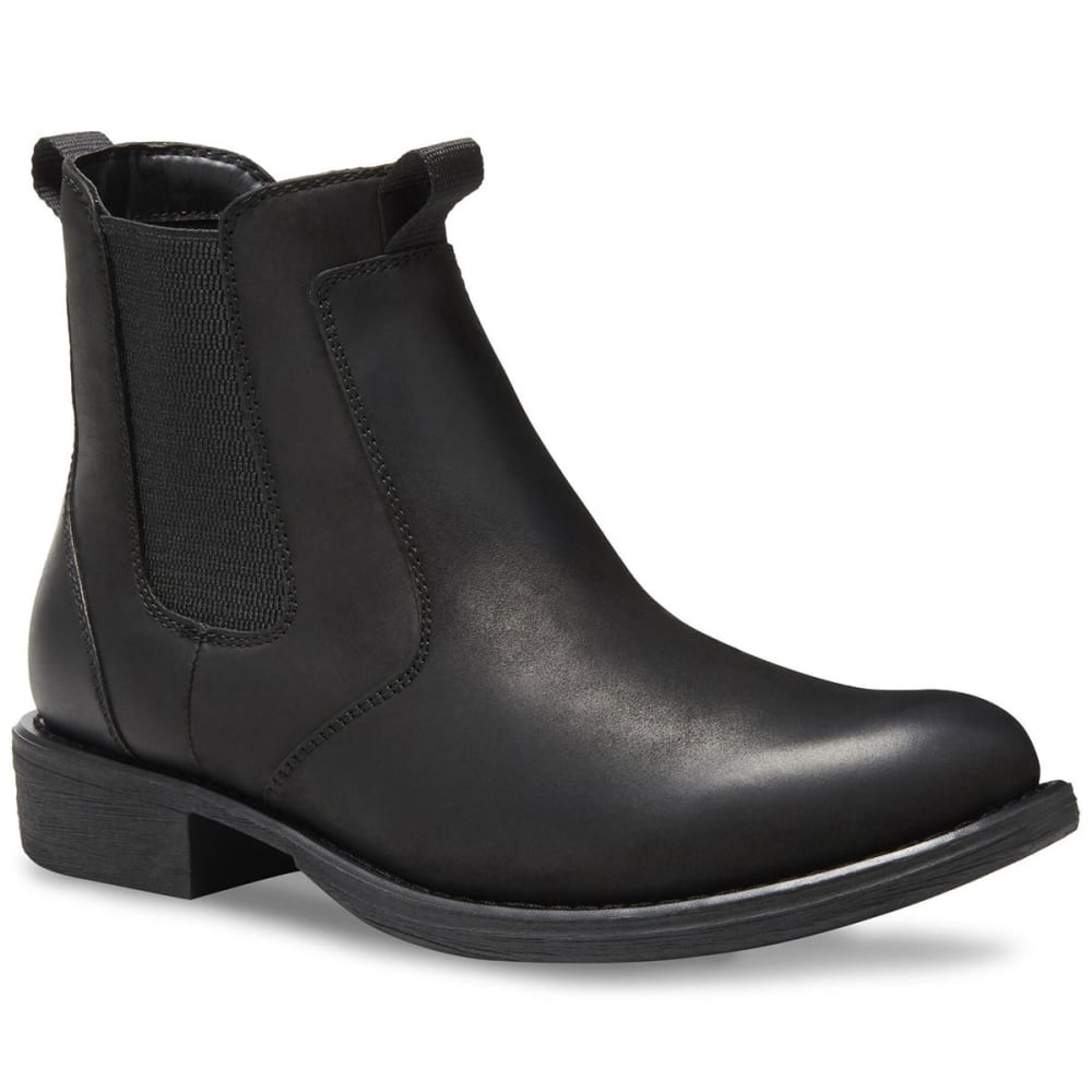 EASTLAND Men's Daily Double Chelsea Boots, Black 8