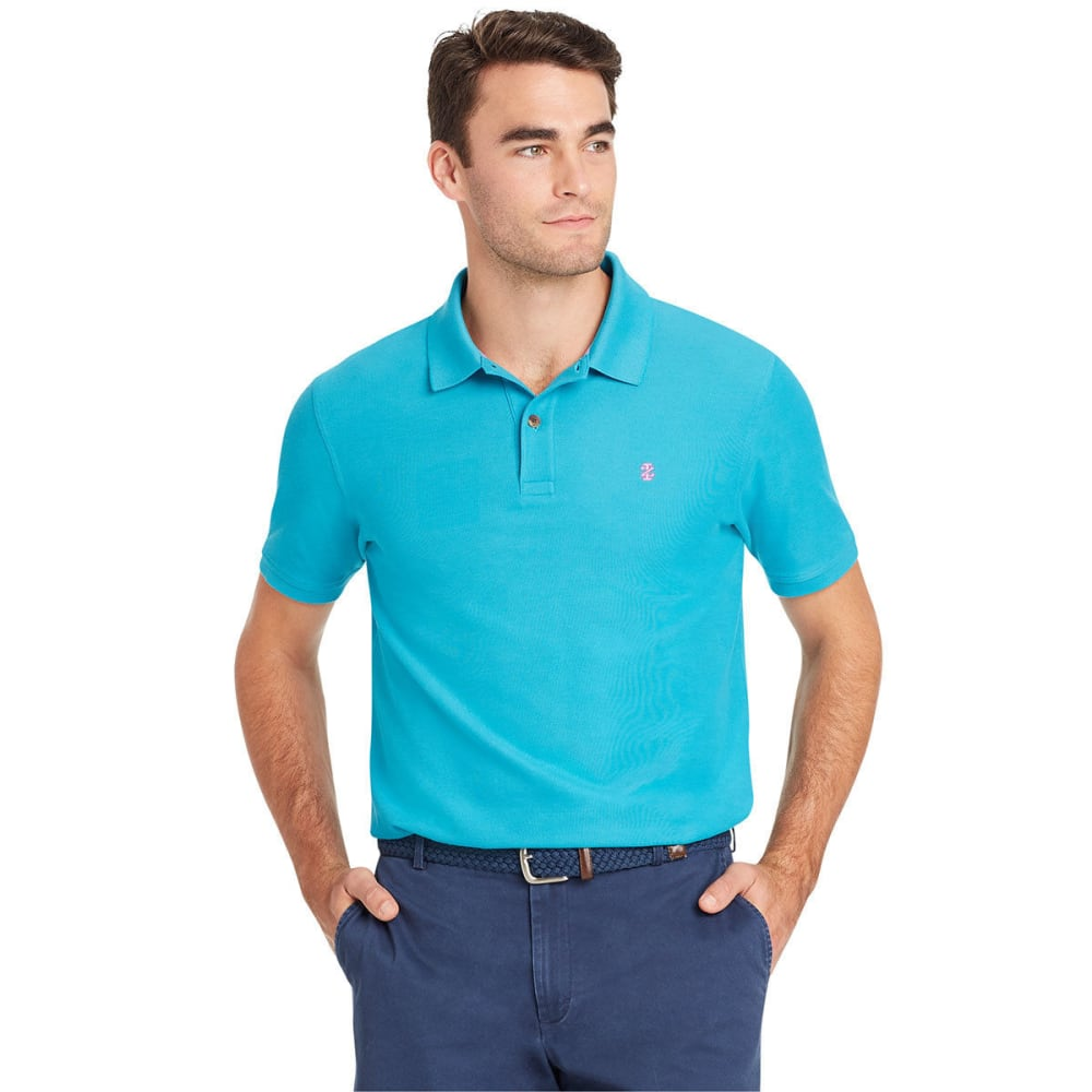IZOD Men's Advantage Performance Short-Sleeve Polo Shirt M