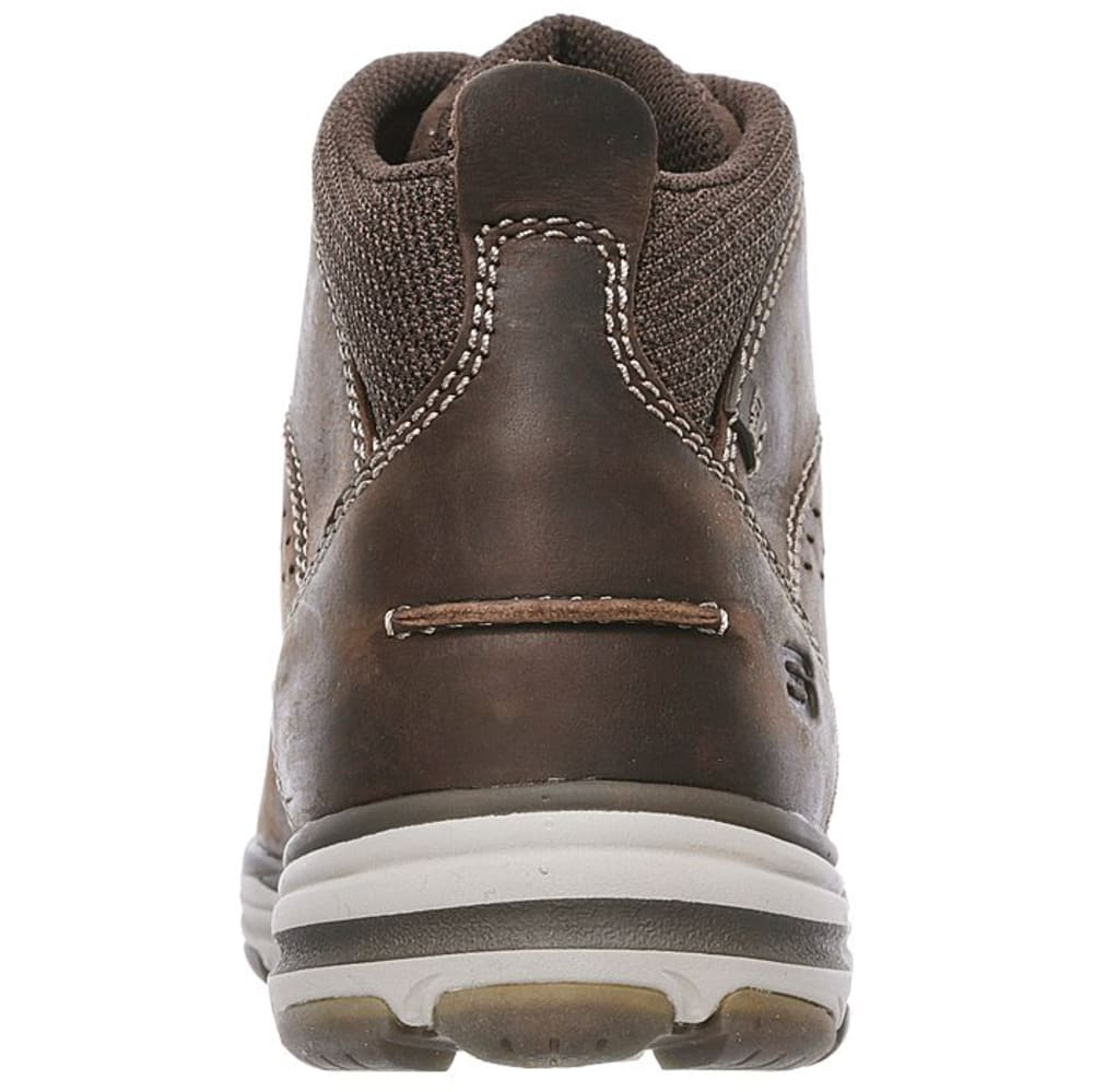 SKECHERS Men's Garton Chukka Boots, Chocolate Brown - CHOCOLATE BROWN