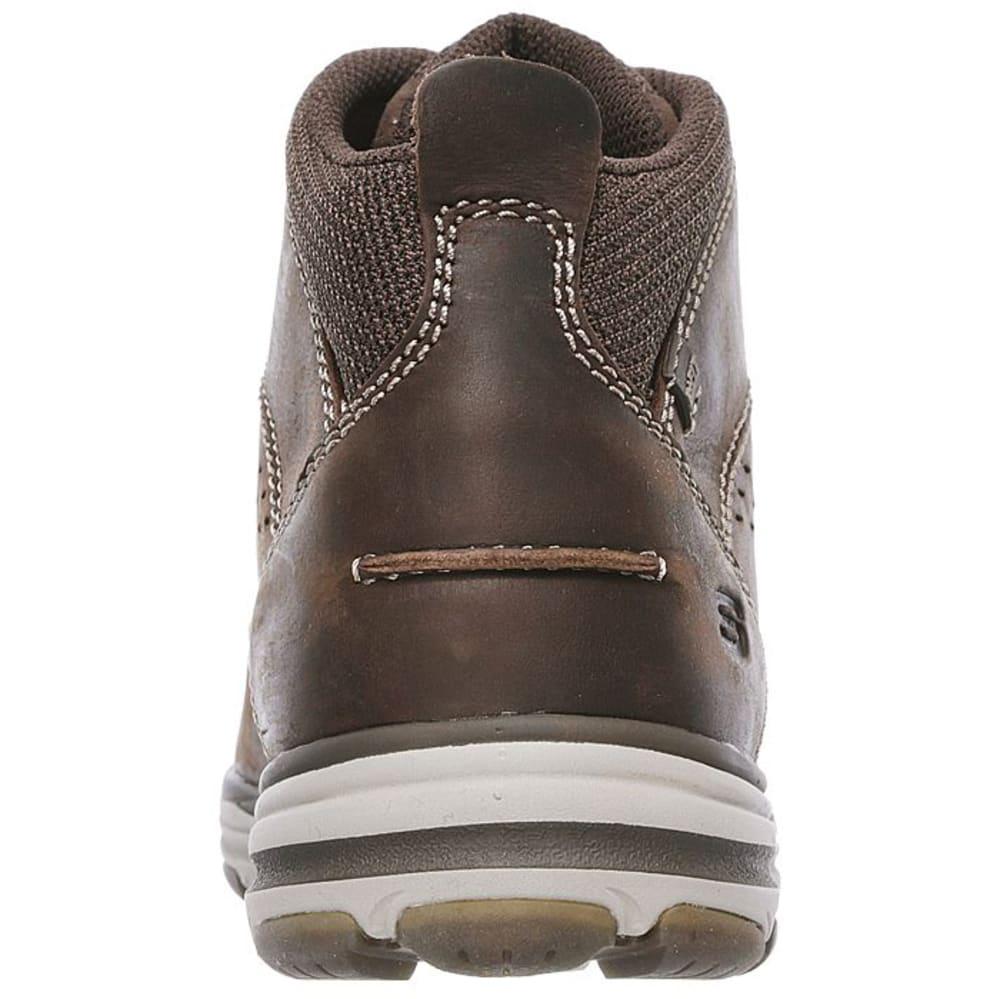SKECHERS Men's Garton Chukka Boots, Chocolate Brown - CHOCOLATE BROWN