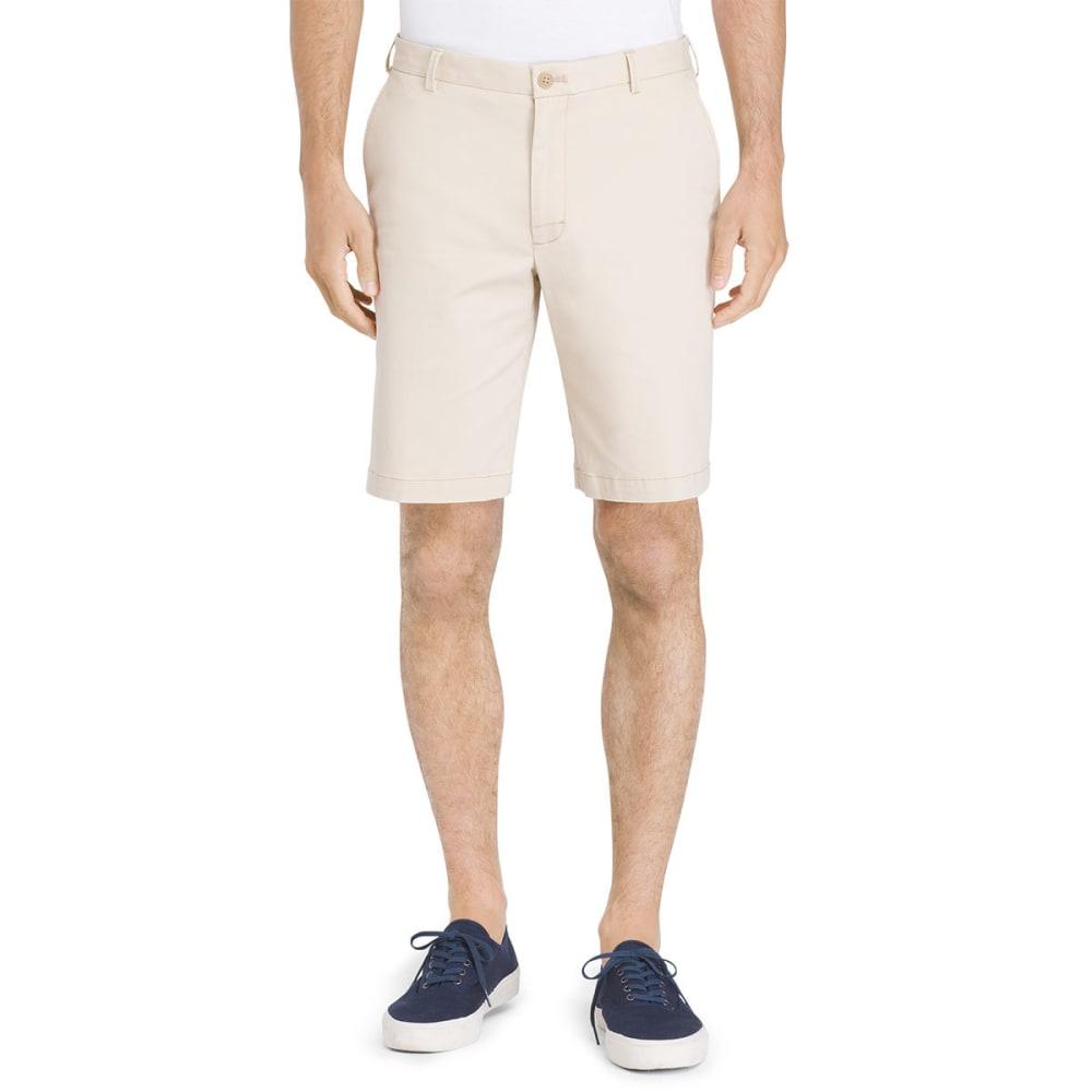 IZOD Men's Saltwater Stretch Flat-Front Chino Shorts 30