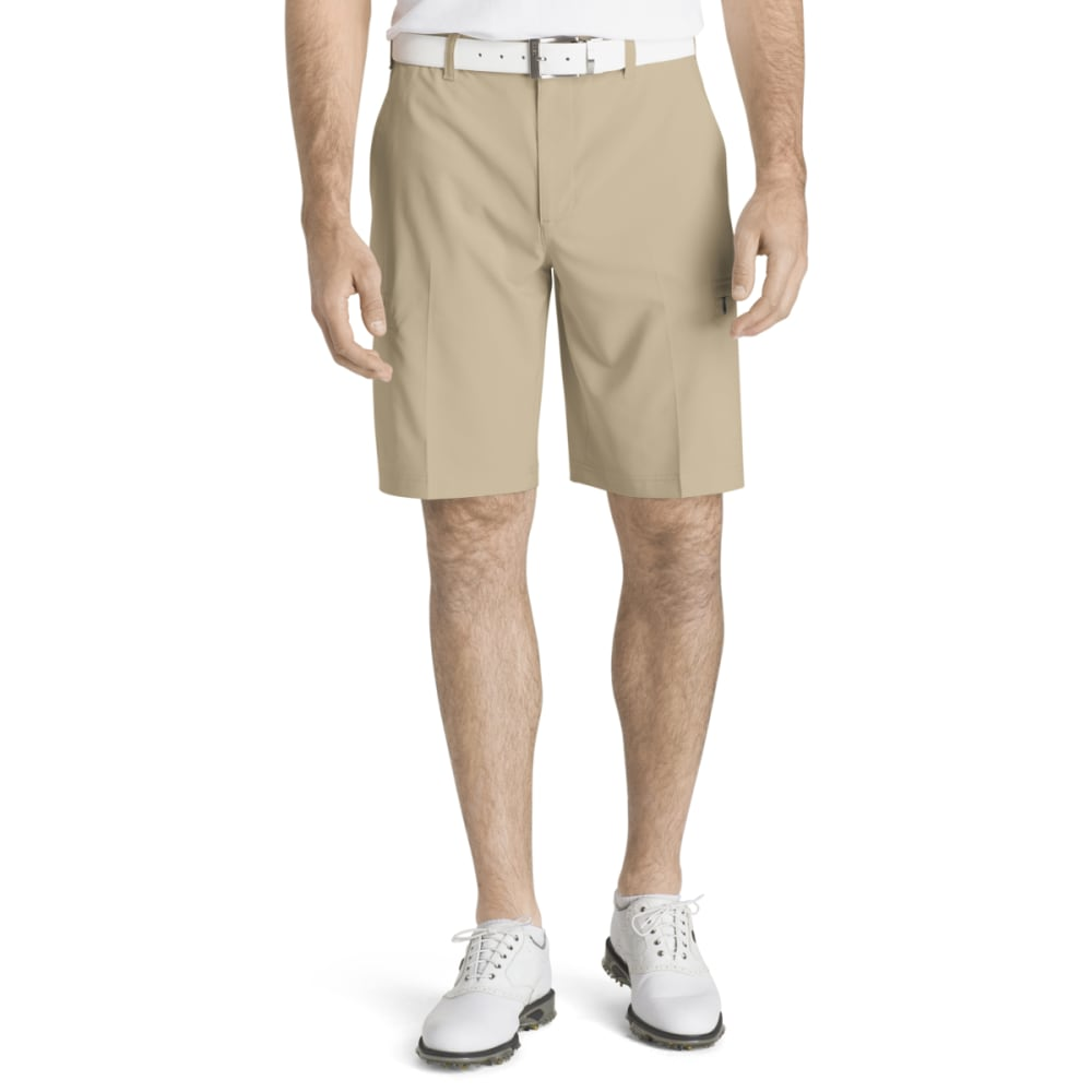 IZOD Men's Swing Flex Cargo Shorts - R KHAKI-921