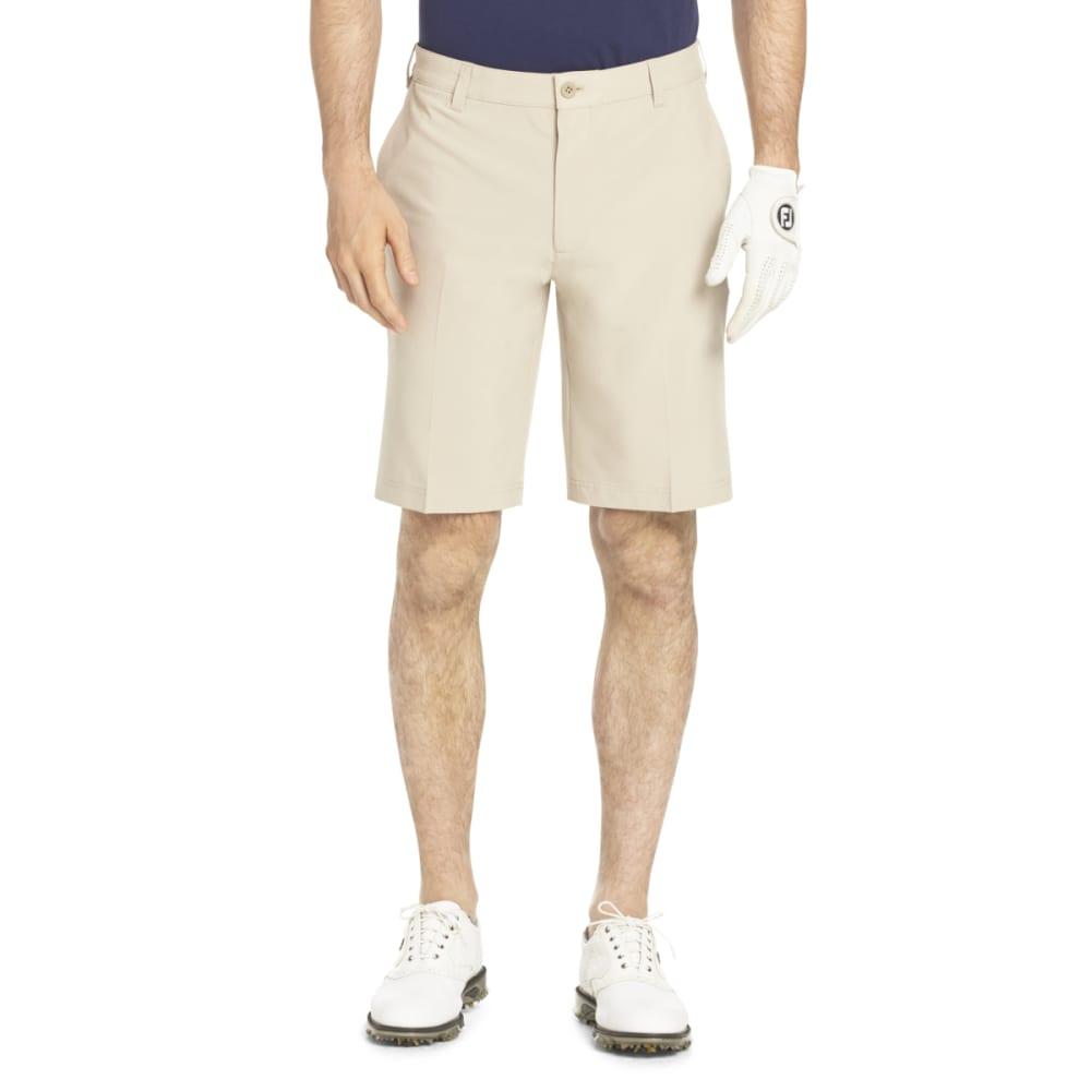 Izod Men's Swing Flex Golf Shorts - Brown, 32