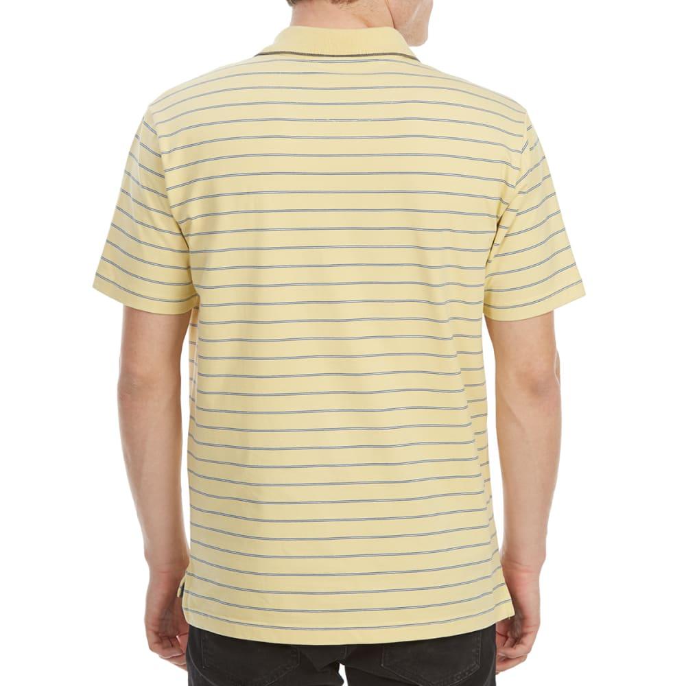 DOCKERS Men's Performance Stripe Short-Sleeve Polo Shirt - SUNLIGHT-0054