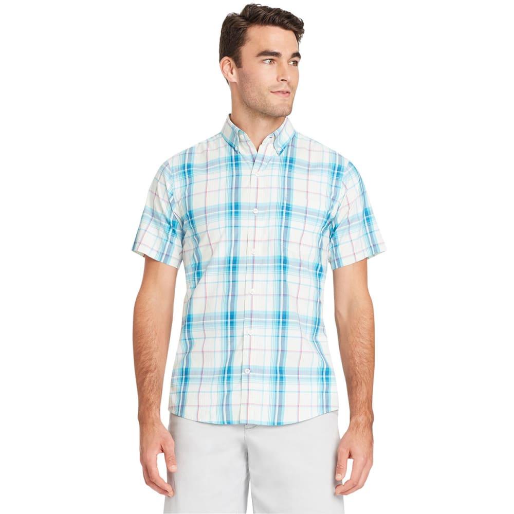 IZOD Men's Advantage Cool FX Short-Sleeve Shirt - CLEARLY AQUA-329