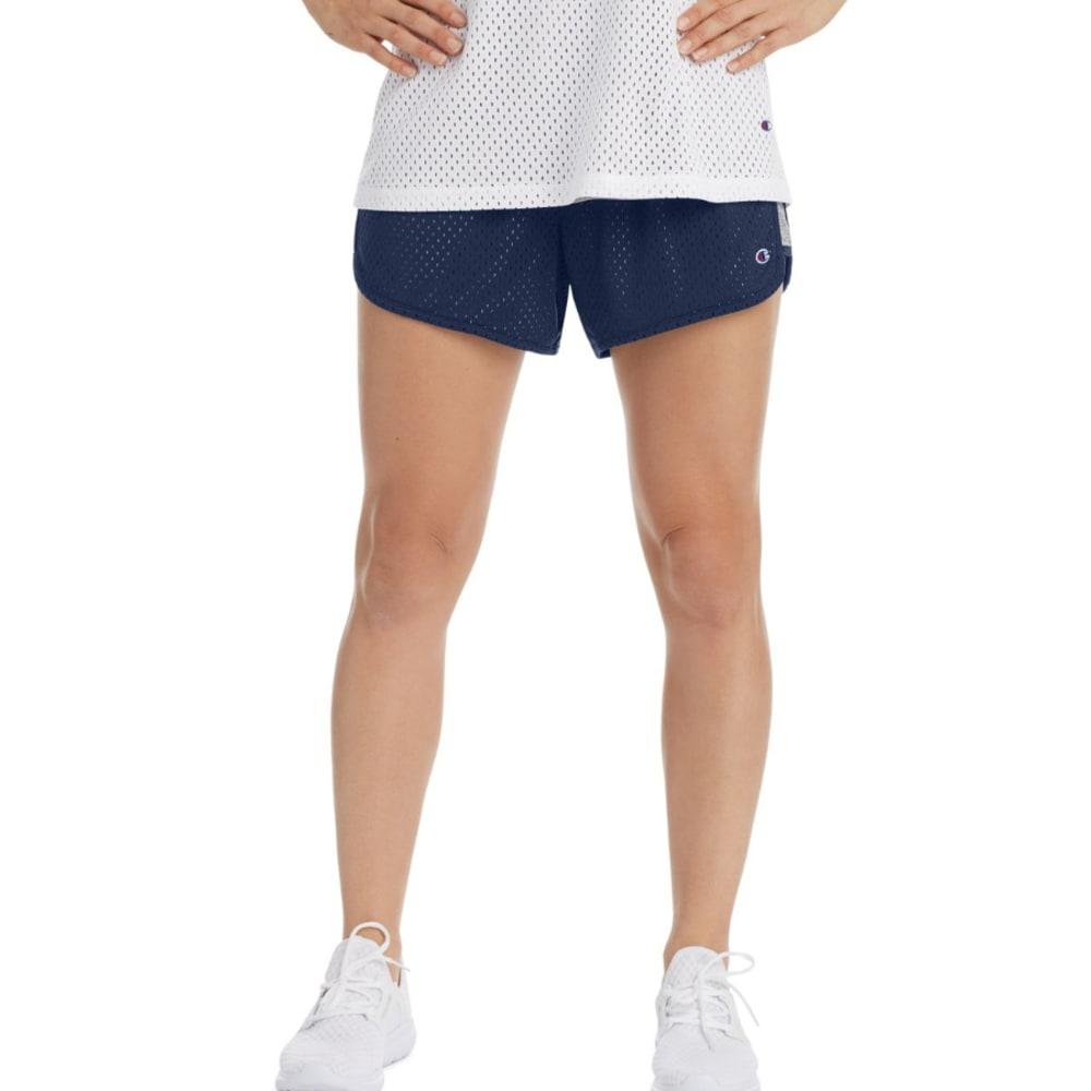 CHAMPION Women's Reversible Mesh-To-Jersey Shorts - IMPRL INDG HTR-44P