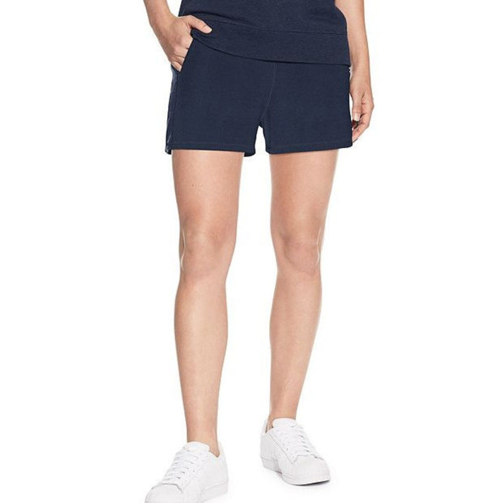 CHAMPION Women's Heritage French Terry Shorts - IMPERIAL INDIGO-PM3