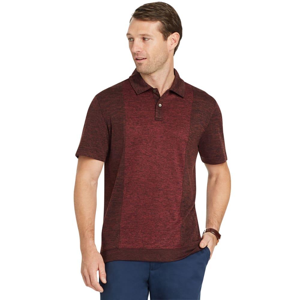 VAN HEUSEN Men's Air Banded Bottom Short-Sleeve Polo Shirt M