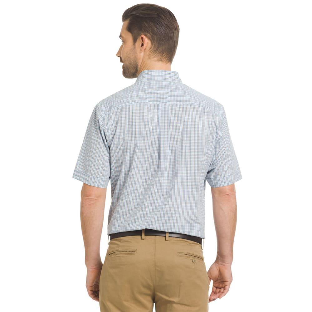 ARROW Men's Hamilton Small Plaid Short-Sleeve Shirt - SKYWAY-465