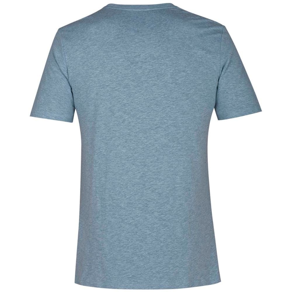 HURLEY Guys' Swellagon Tri-Blend Short-Sleeve Tee - NOISE AQUA-407