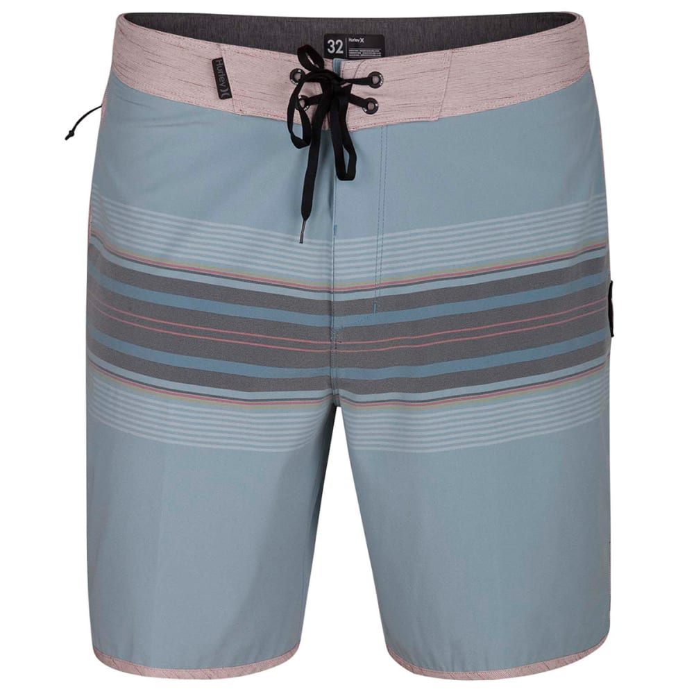 Hurley Guys' Phantom Yesterday Boardshorts - Blue, 34