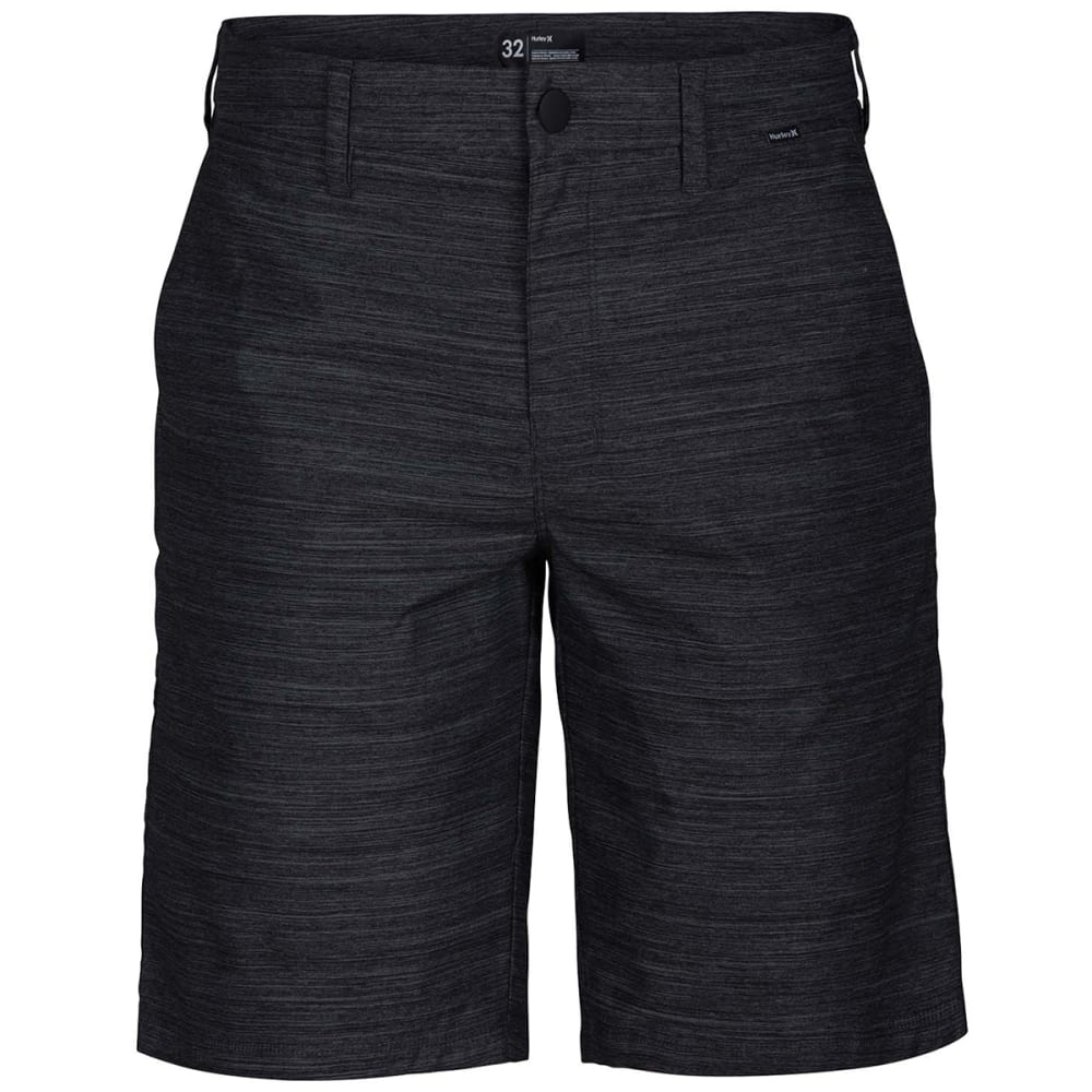 Hurley Guys' Dri-Fit Breathe Shorts - Black, 34