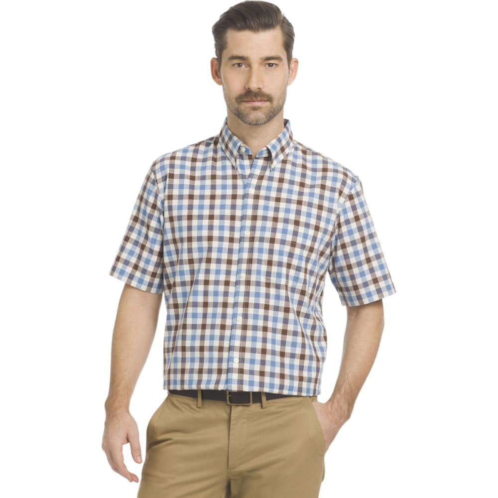 ARROW Men's Coastal Cove Woven Short-Sleeve Shirt M