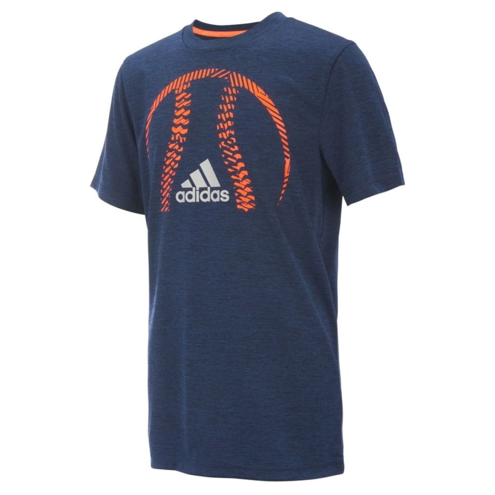 ADIDAS Boys' Sport Silhouette Tee - COL NVY HTR-AB02H