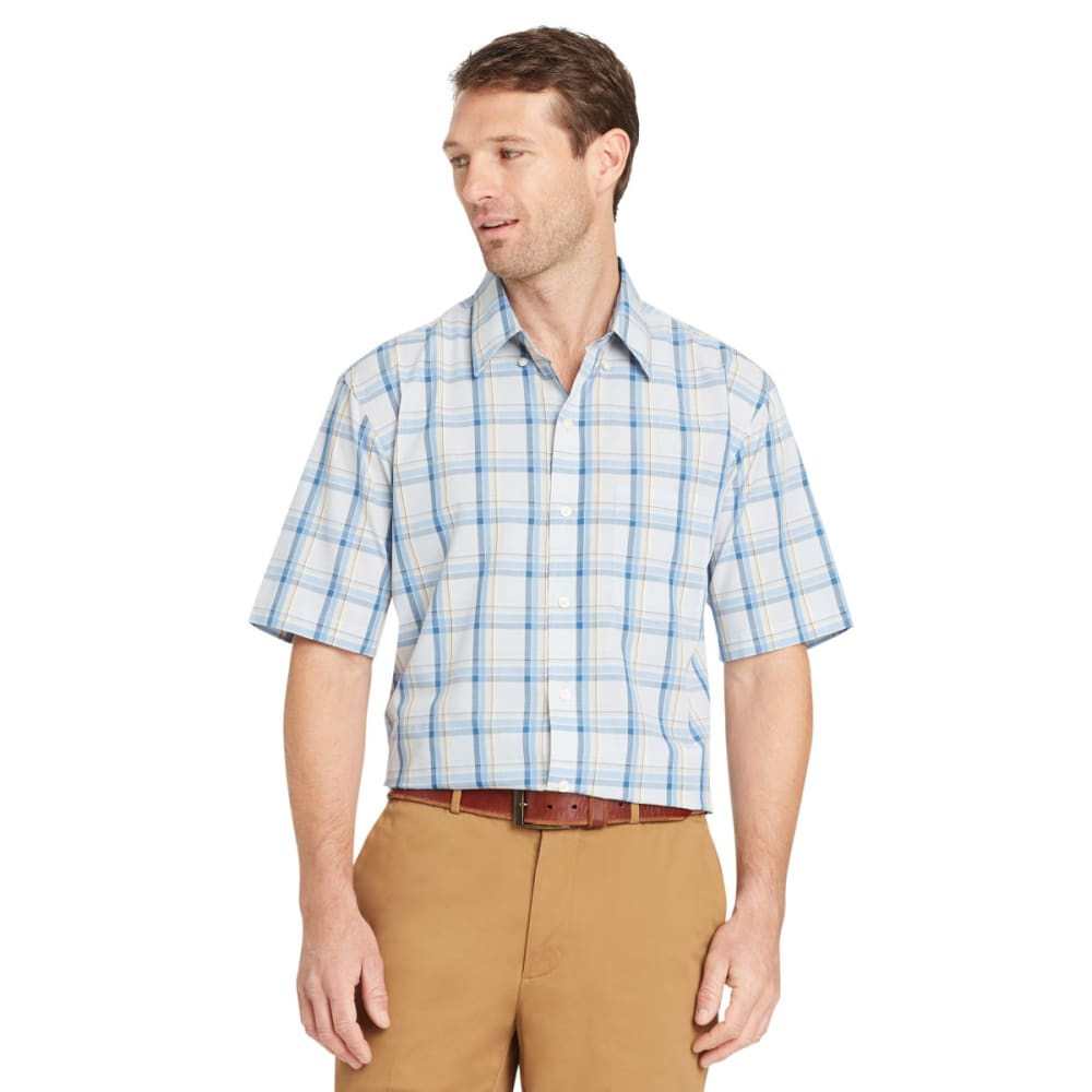 ARROW Men's Coastal Cove Woven Short-Sleeve Shirt - SKYWAY-465