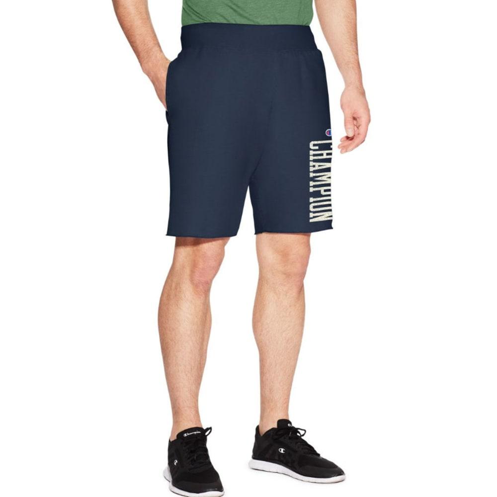 CHAMPION Men's Heritage Fleece Shorts - ANCHORSLT-Y19