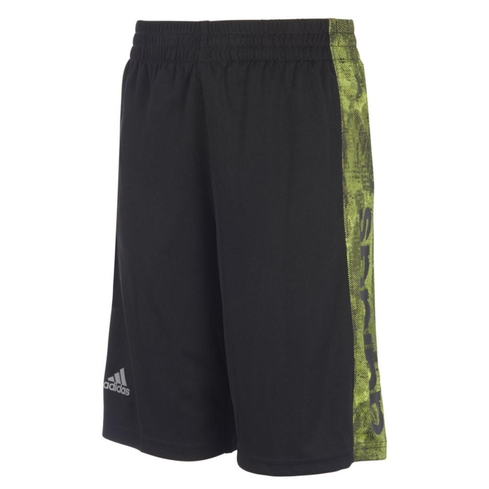 ADIDAS Big Boys' Supreme Speed Shorts - BLK/SS YLW-AK110
