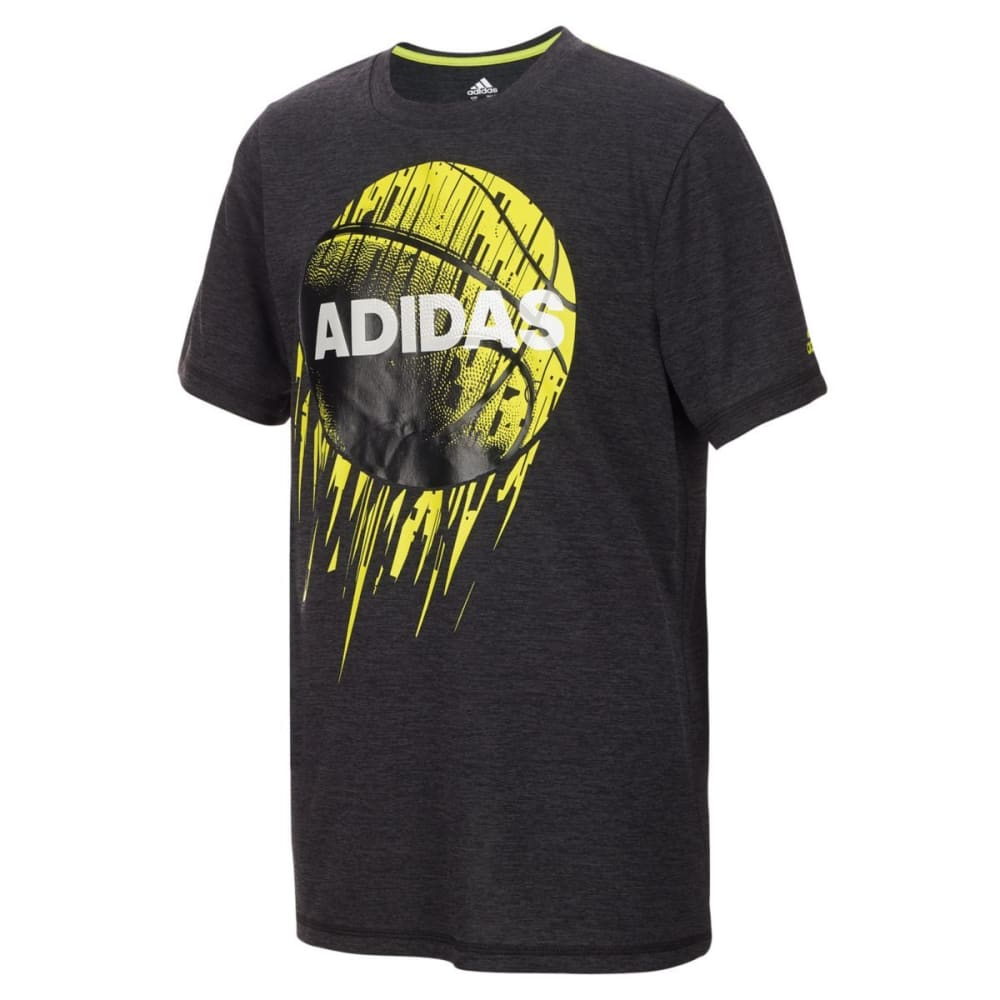 ADIDAS Little Boys' Rocket Ball Short-Sleeve Tee - BLK HTR-AK01H