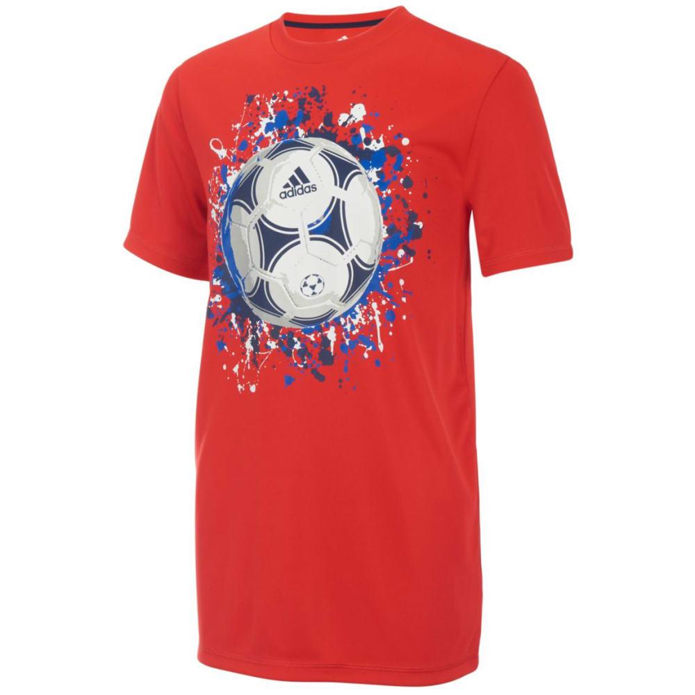ADIDAS Little Boys' USA Short-Sleeve Tee - VIVID RED-AR93