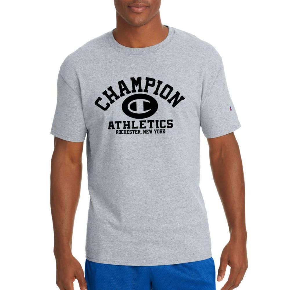 Champion Men's Jersey Homebase Short-Sleeve Tee - Black, L