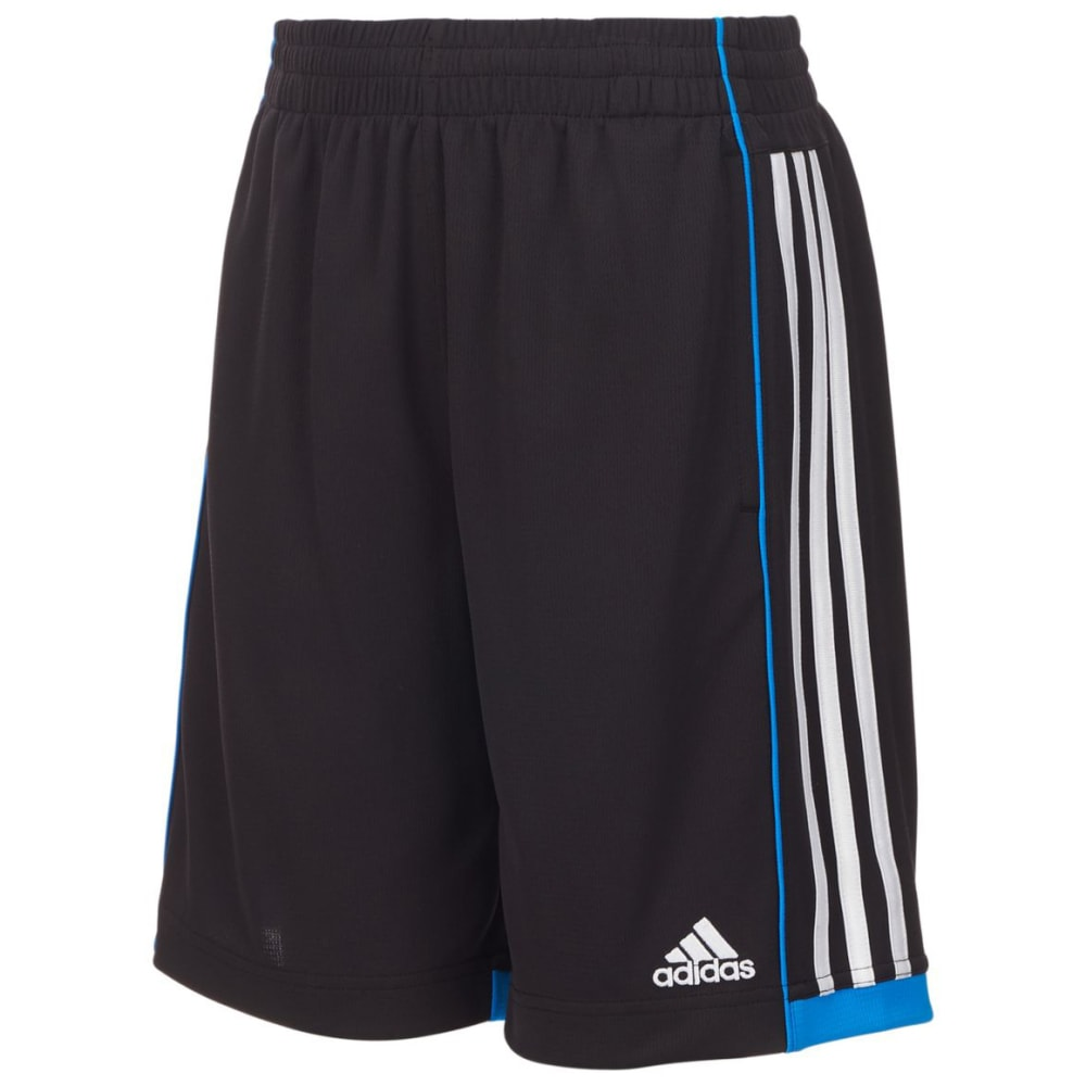 ADIDAS Little Boys' Next Speed Shorts - BLK/HI RES BLU-AK10