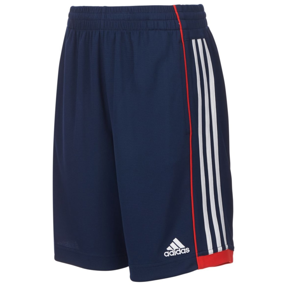 ADIDAS Little Boys' Next Speed Shorts - COL NVY/V RED-AB94
