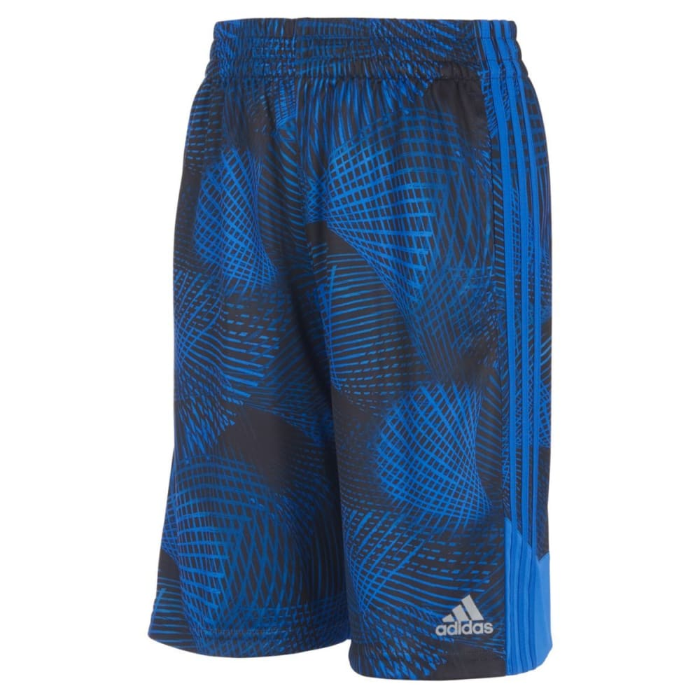 ADIDAS Little Boys' Amplified Net Basketball Shorts - HI RES BLUE-AQ04