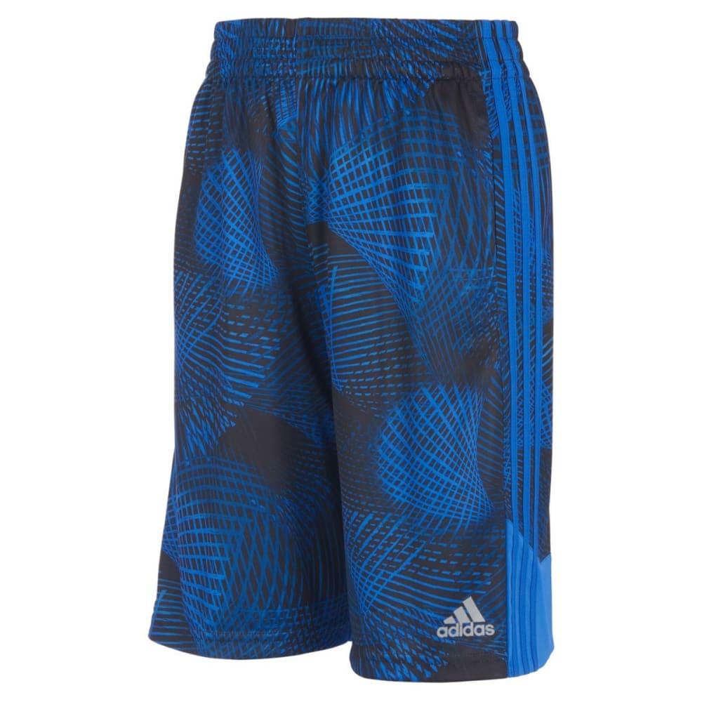 ADIDAS Little Boys' Amplified Net Basketball Shorts - HI RES BLUE-AQ04