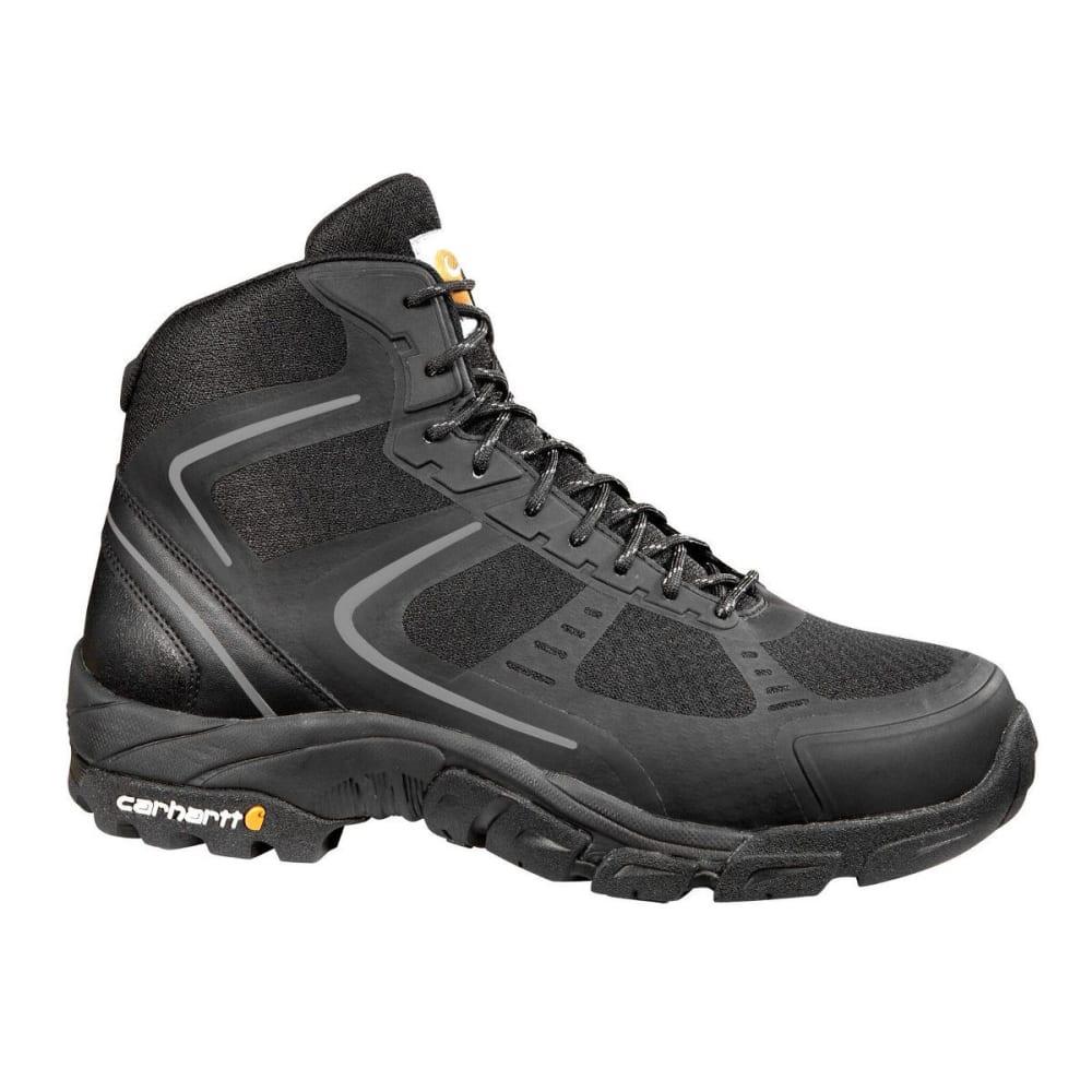 CARHARTT Men's Lightweight Work Hiker Boots, Black 8.5