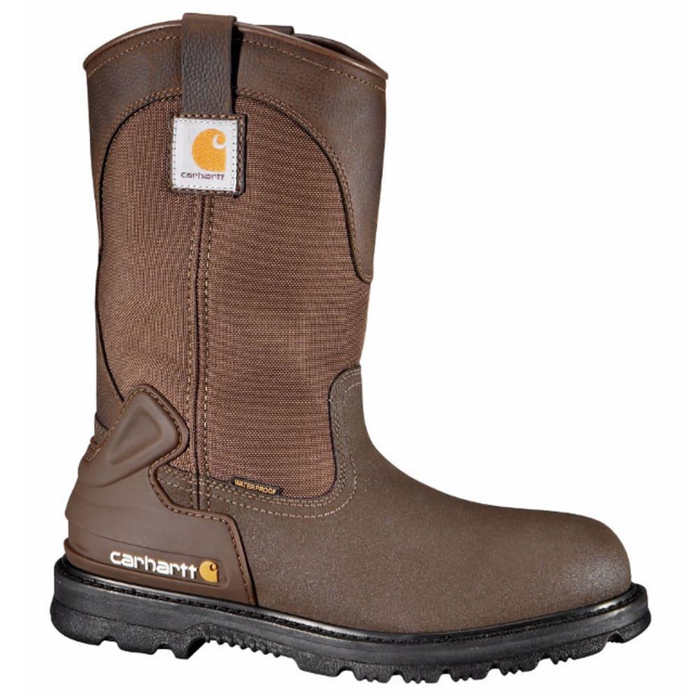 CARHARTT Men's 11-Inch Wellington Boots, Brown 8