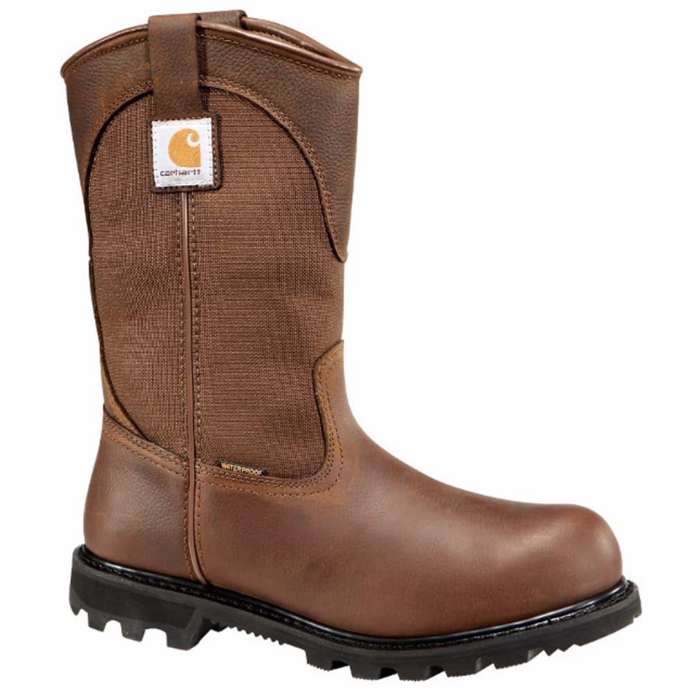 CARHARTT Men's 11-Inch Steel Toe Wellington Boots, Dark Bison - DK BISON OIL TANNED