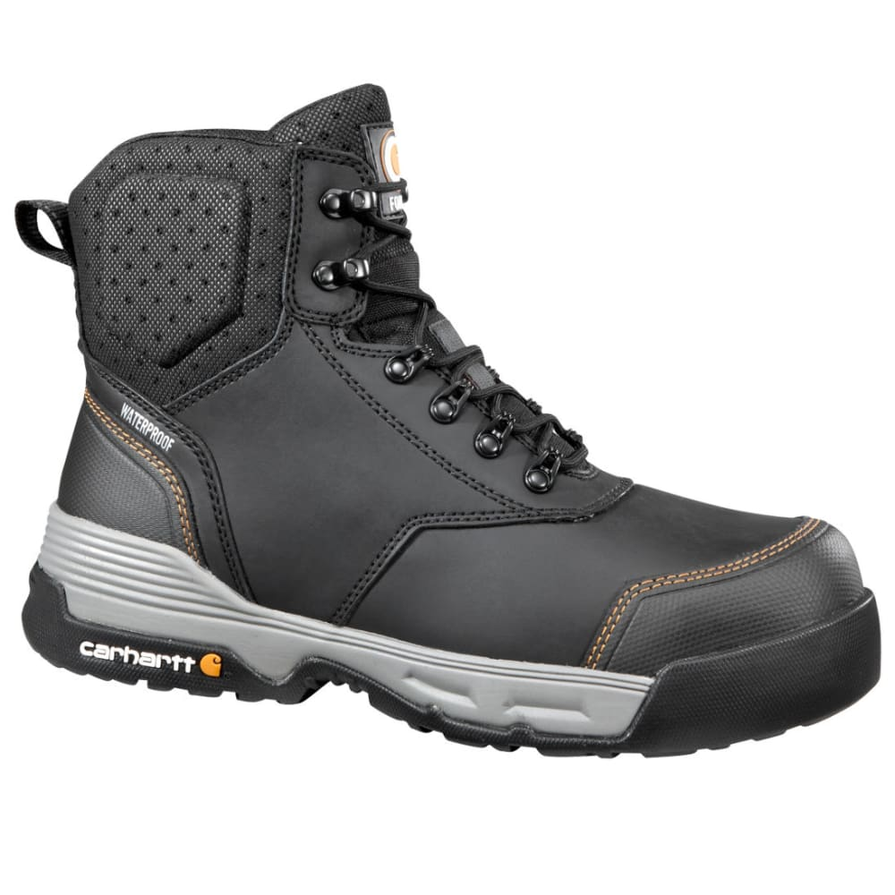 CARHARTT Men's 6-Inch Force Work Boots, Black 8