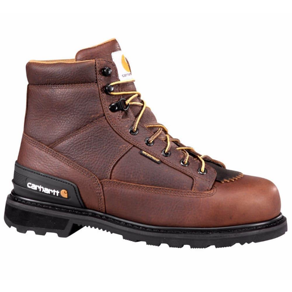 CARHARTT Men's 6-Inch Work Boots, Brown - CAMEL BROWN OIL TAN