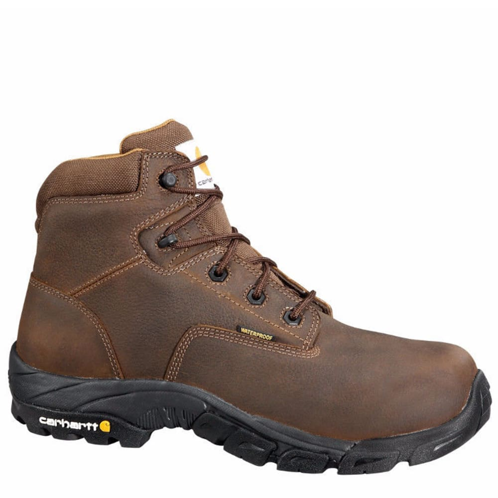 CARHARTT Men's 6-Inch Work Hiker Boots, Bison Brown - BISON BROWN OIL