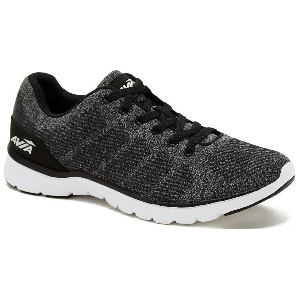 AVIA Men's Avi-Rift Running Shoes - BLACK-BVH MED