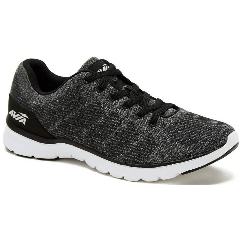 AVIA Men's Avi-Rift Running Shoes, Wide - BLACK-BVH WIDE