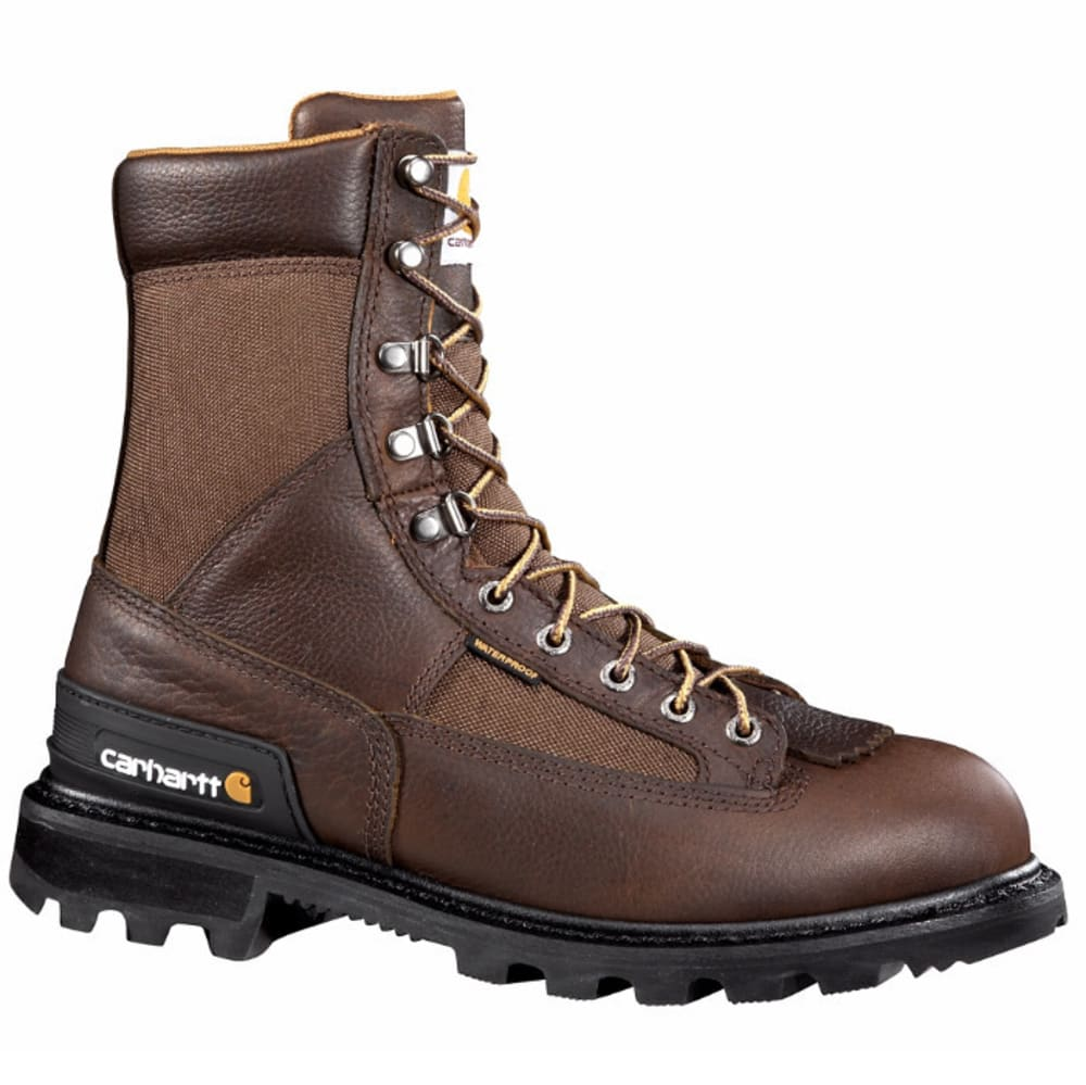 CARHARTT Men's 8-Inch Non Safety Toe Work Boots, Camel Brown - CAMEL BROWN OIL