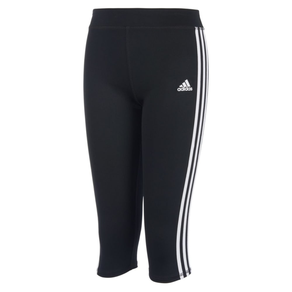 Adidas Big Girls Replenishment Capri Tights - Black, S