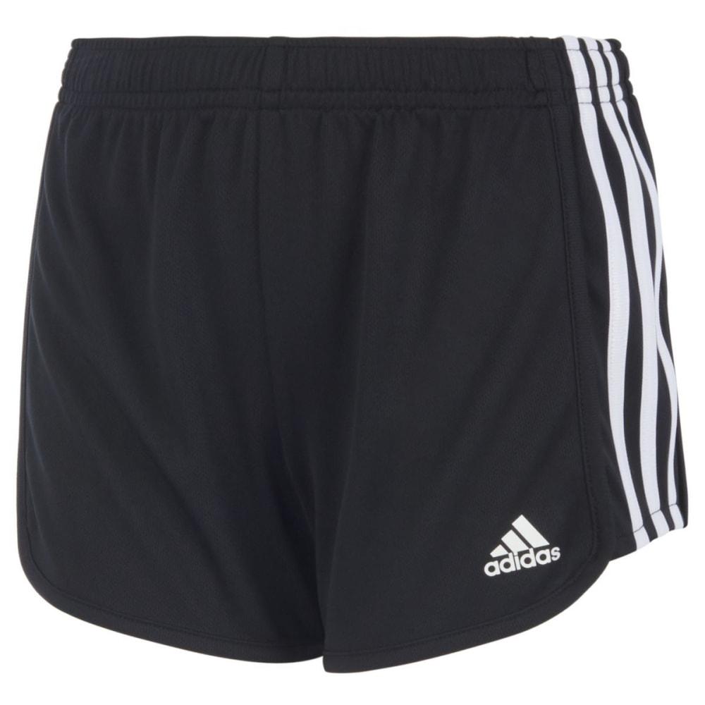 ADIDAS Big Girls' Replenishment Mesh Shorts - BLACK-AK01