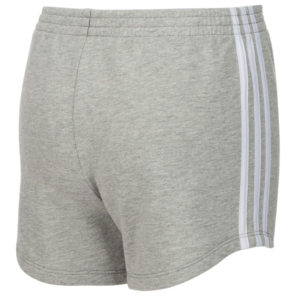 ADIDAS Big Girls' Sport Shorts - GREY HEATHER-H01
