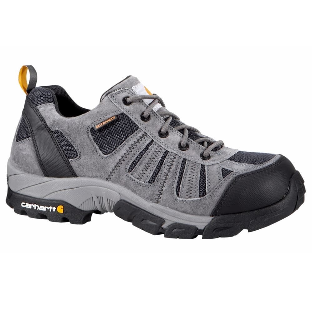 Carhartt Men's Lightweight Low-Rise Composite Toe Work Hiker Boots, Grey/navy