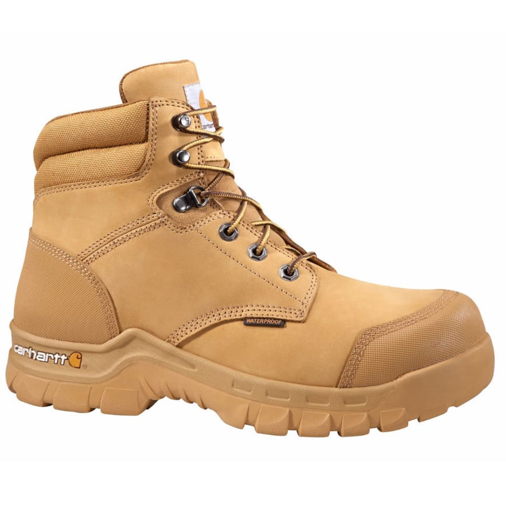 Carhartt Men's 6-Inch Rugged Flex Work Boots, Wheat - Brown, 8