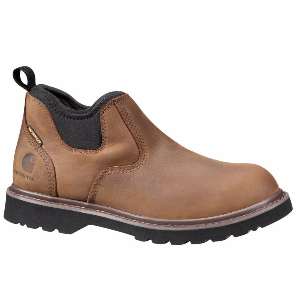 CARHARTT Women's 4-Inch Romeo Boots, Bison Brown - DK BISON OIL TANNED