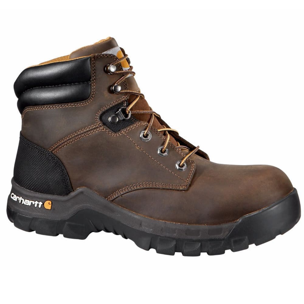 CARHARTT Women's 6-Inch Rugged Flex Work Boots, Brown - BROWN OIL TANNED