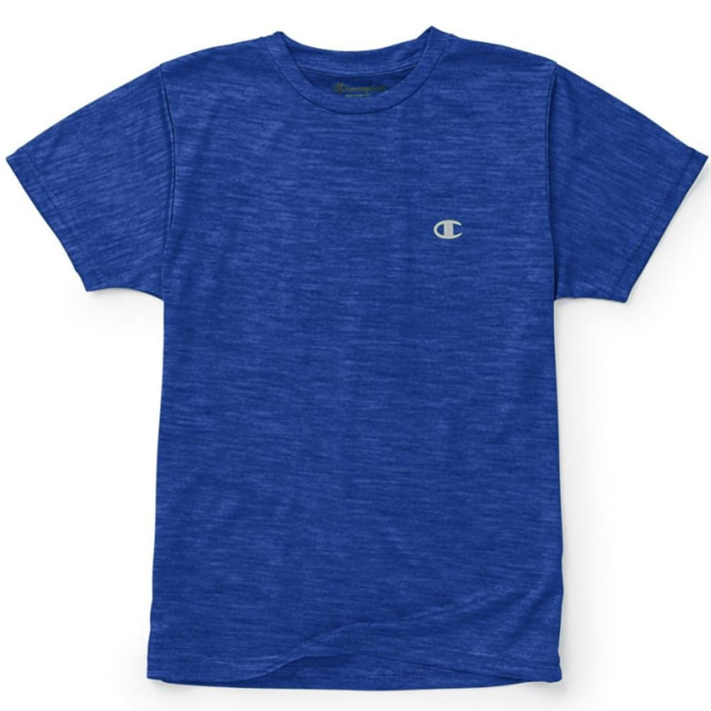 CHAMPION Little Boys' Performance Short-Sleeve Tee - AWESOME BLUE