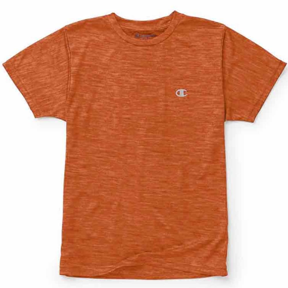 CHAMPION Little Boys' Performance Short-Sleeve Tee - VIBRANT HTR ORANGE