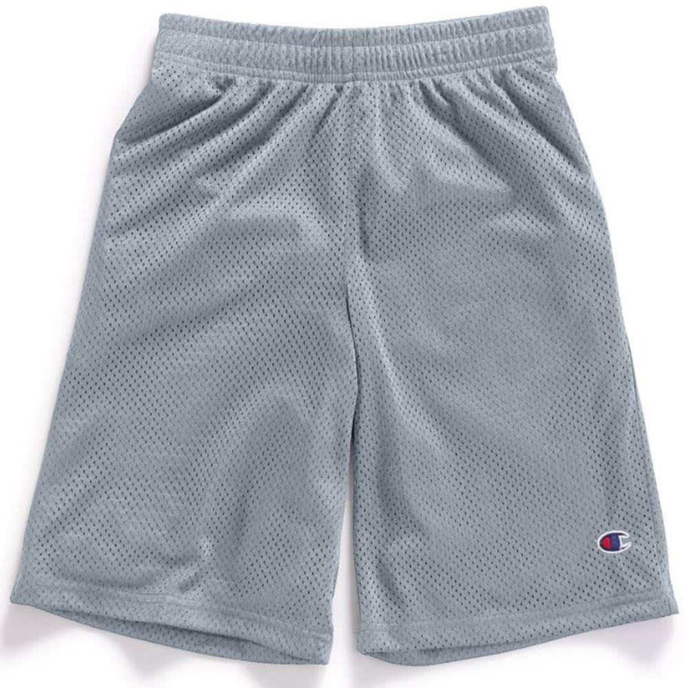 CHAMPION Boys' Heritage Mesh Shorts - SHARK